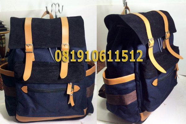 Tas Backpack Kanvas